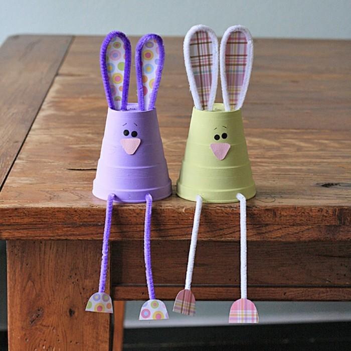 basteln mit kindern kreative bastelideen aus papp und plastikbechern zum selbermachen. Black Bedroom Furniture Sets. Home Design Ideas