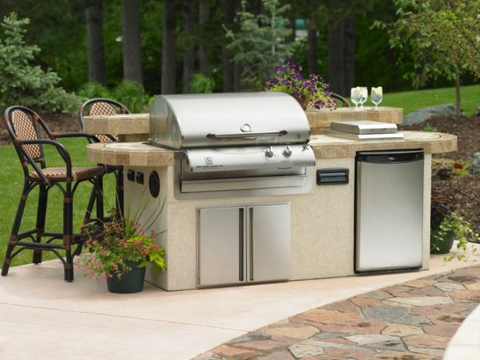 Outdoor Küche Edelstahl Preis : Outdoor küche und gartenküche: varianten materialien und anbieter