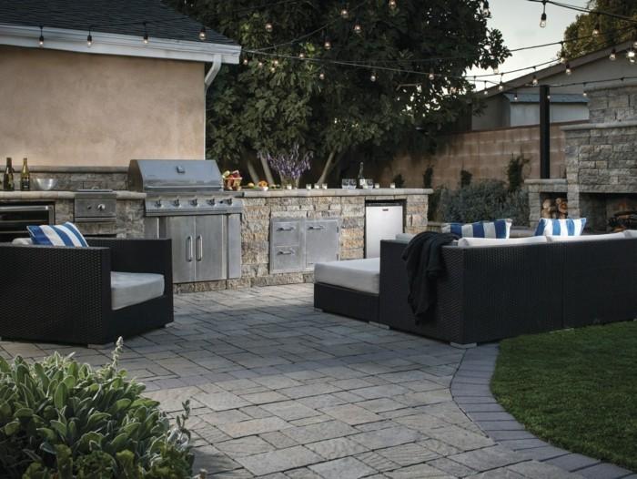 outdoor küche immer aktueller