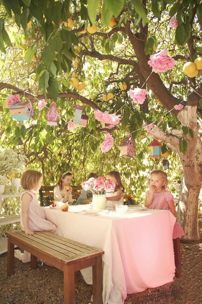 pinata basteln kindergeburtstag feiern draussen