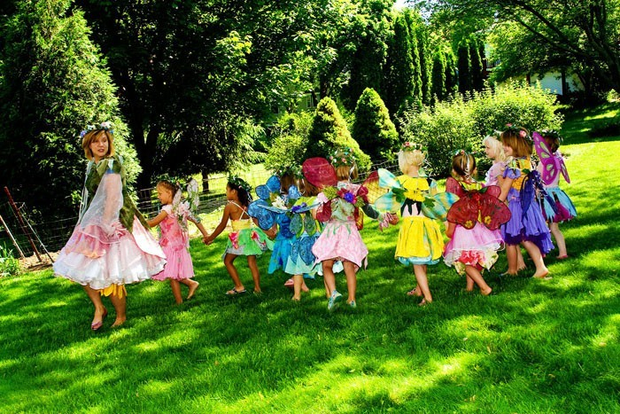 pinata basteln kindergeburtstag feiern gartenfee