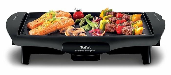 plancha grill tefal fisch gemüse gesund grillen