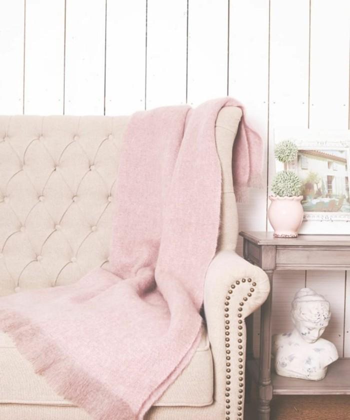 schöne wohnideen dekoration in millennial pink