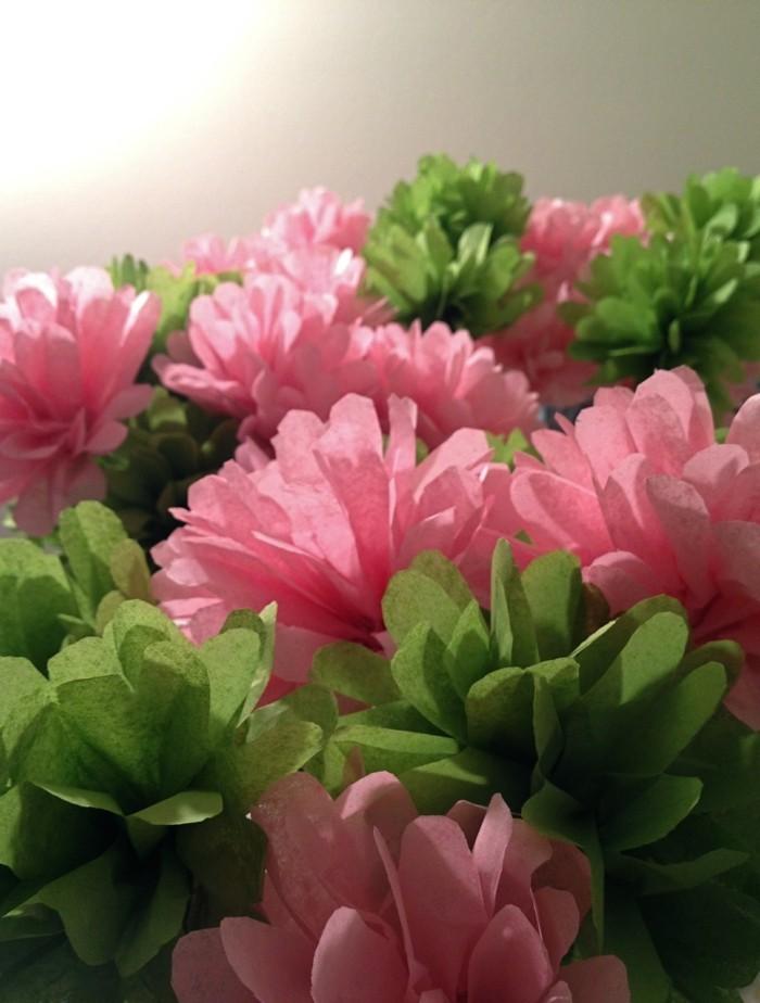 schöne wohnideen millennial pink blumen für die dekoration