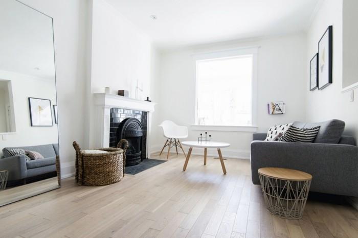 schöne wohnideen für das moderne wohnzimmer im skandinavischen stil
