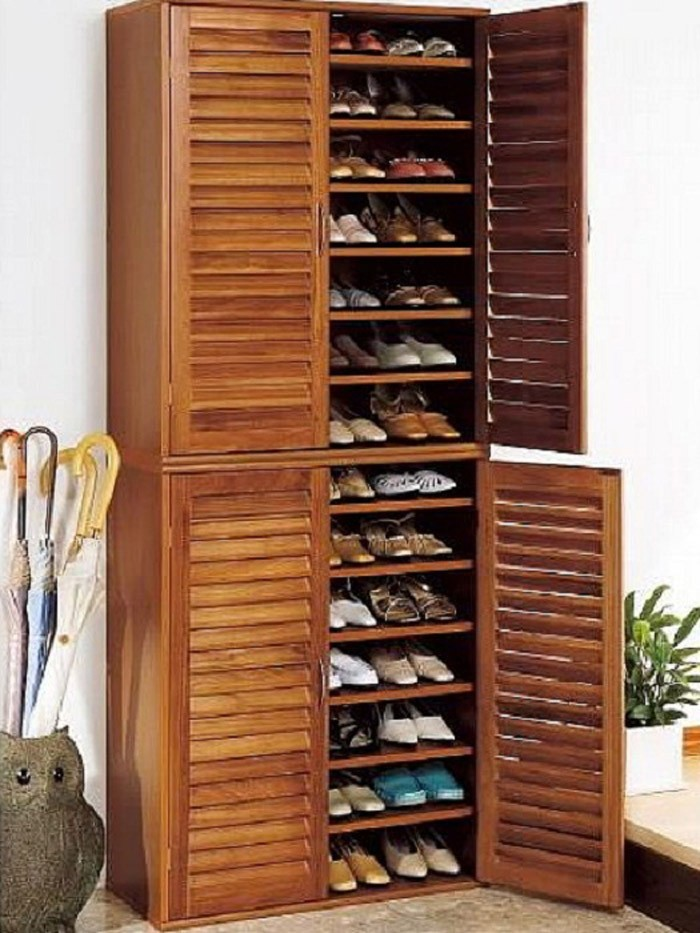 Shoe rack build your own breathable wall shelf