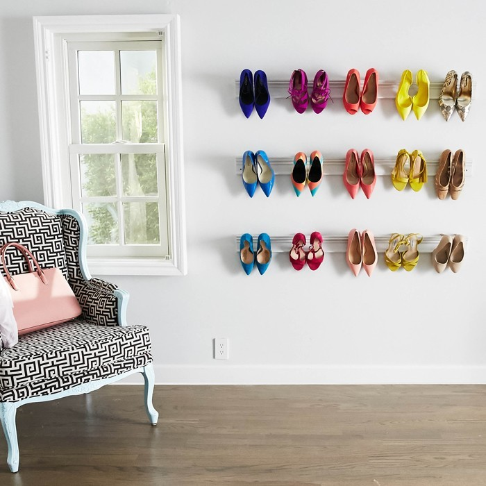 Shoe cabinet build your own wall shelves