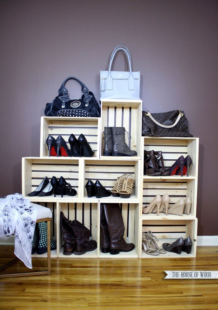 shoe rack build your own wall shelf wine boxes fruit boxes