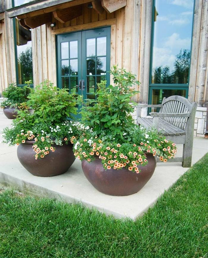 sichtschutz pflanzkübel den erholungsbereich schützen
