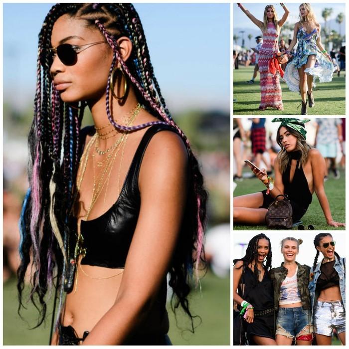 sommer frisuren 2017 festival sommer