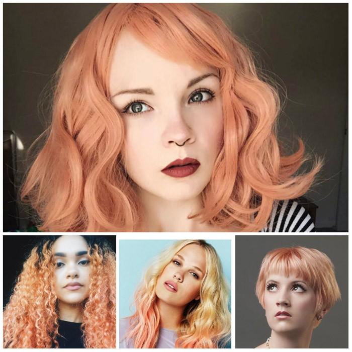 sommer frisuren 2017 rot blond