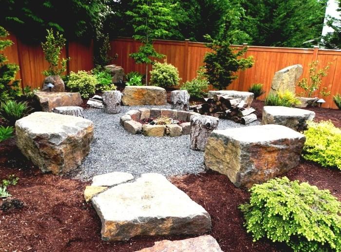Steingarten Anlegen Und Eine Naturgemäße Und Attraktive