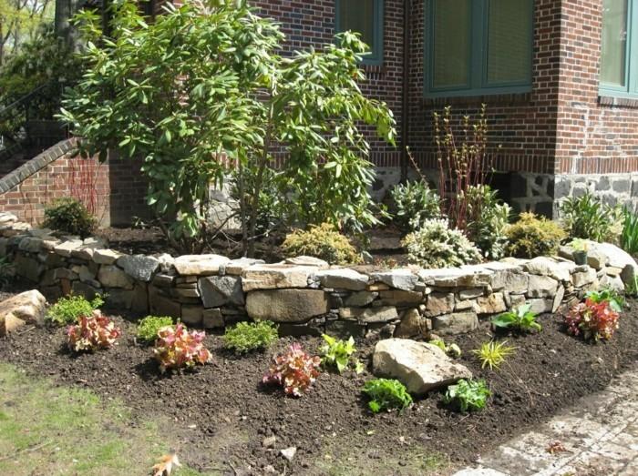 steingarten anlegen blumenbeete dekorieren und schöne eyecatcher schaffen