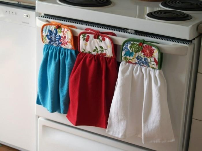 tipps und tricks für die küche die tücher aufbewahren