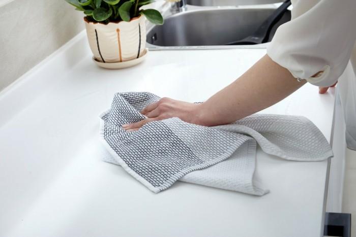 tipps und tricks schöne wohnideen für die tücher in der küche