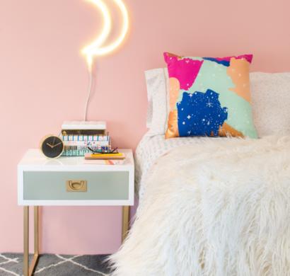 trendfarben 2017 millennial pink im innendesign. Black Bedroom Furniture Sets. Home Design Ideas