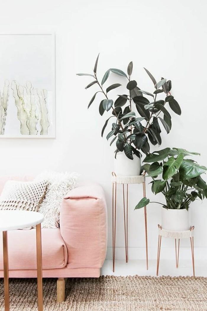 trendfarben 2017 millennial pink im wohnzimmer das wohnzimmersofa