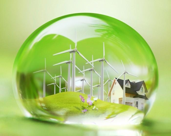 umweltschutz und nachhaltig wohnen