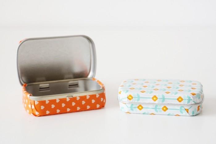 washi tape ideen für dekorieren pfeffermintdosen