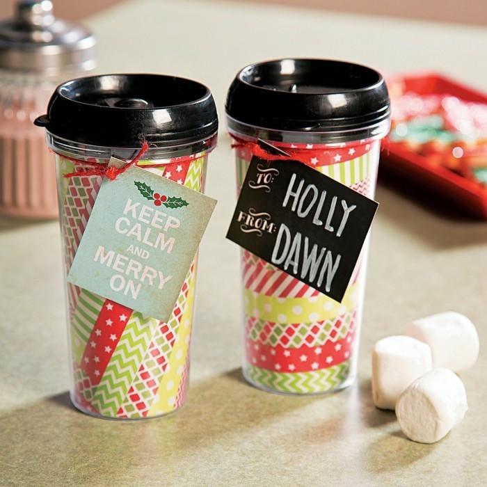 washi tape ideen mehrwegbecher kaffeebecher selber dekorieren