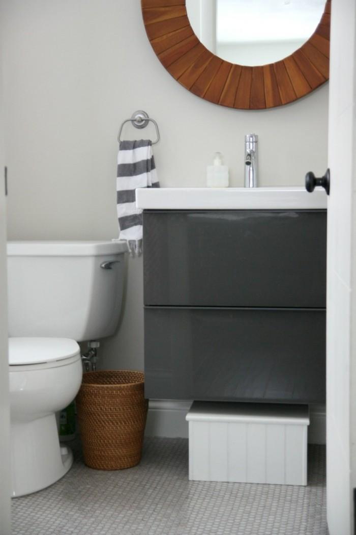 wohnideen für das badezimmer tücher als dekoration