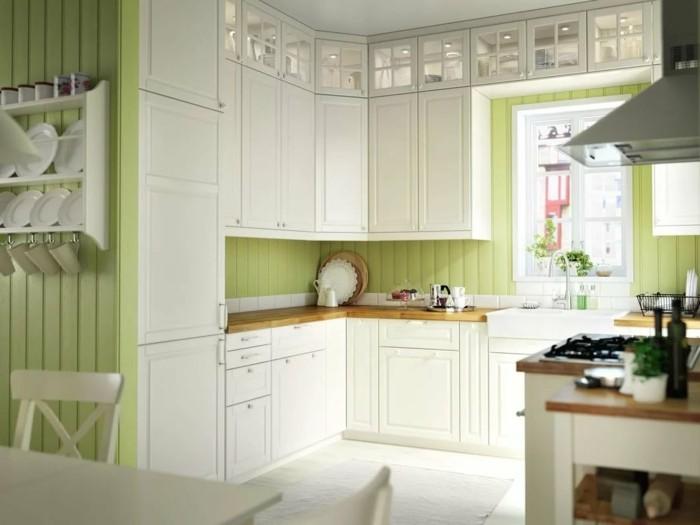 wohnideen küche kleine küche in l-form gestalten
