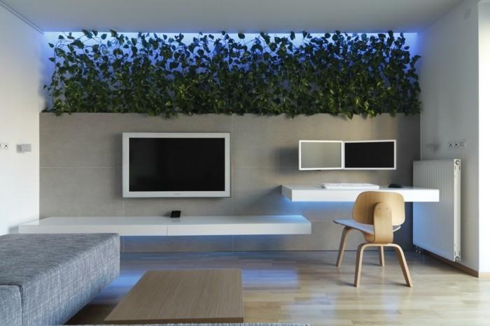 wohnideen wohnzimmer akzentbeleuchtung für schöne eyecatcher