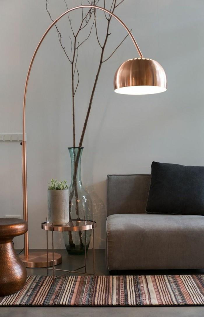 wohnideen wohnzimmer lampen richtig integrieren