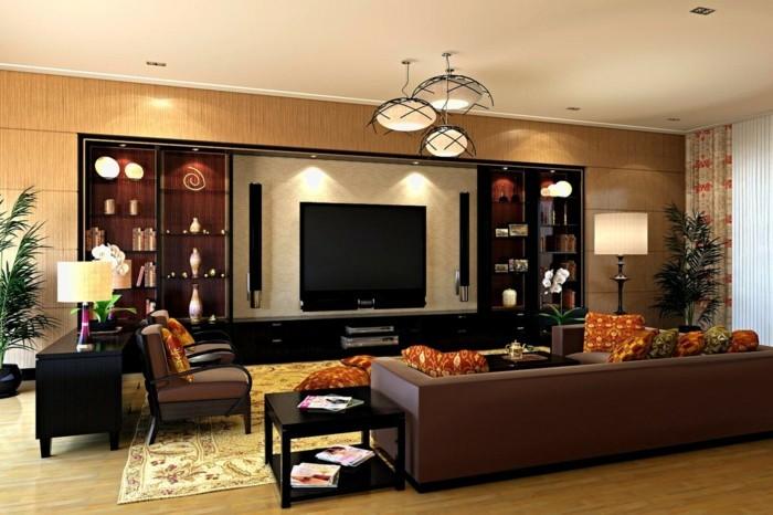 wohnideen wohnzimmer moderne und funktionale beleuchtung