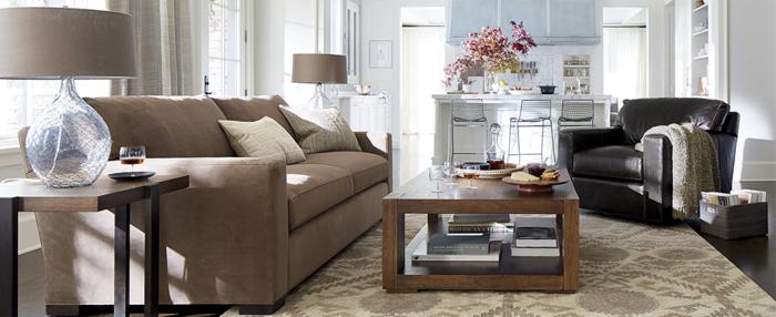 wohnzimmer richtig einrichten möbel sofas couchtisch holz