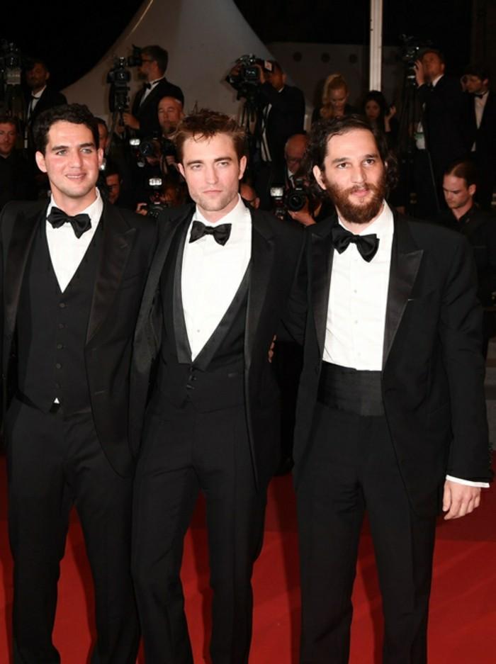 Ben Safdie, Robert Pattinson und Joshua Safdie