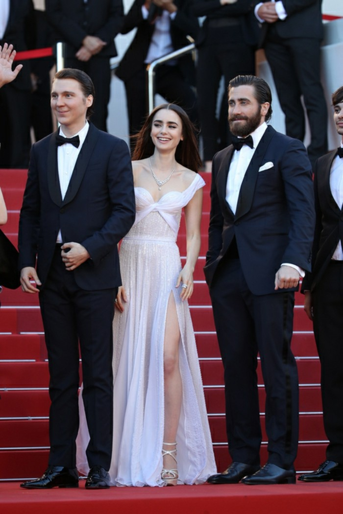 Paul Dano Lily Collins Jake Gyllenhaal