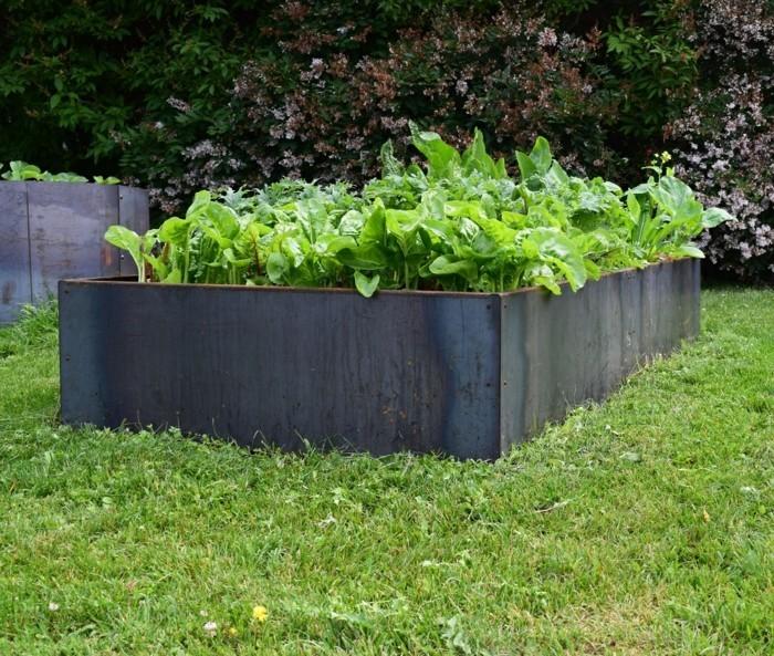 hochbeete aus metall wissenswertes ber die vorteile und die installation. Black Bedroom Furniture Sets. Home Design Ideas