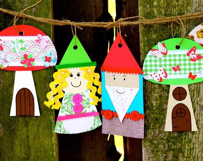 ausgefallene gartendeko selber machen upcycling ideen diy deko basteln mit kindern