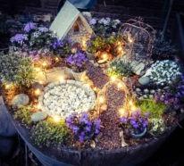 Ausgefallene Gartendeko selber machen – 101 Beispiele und Upcycling Ideen