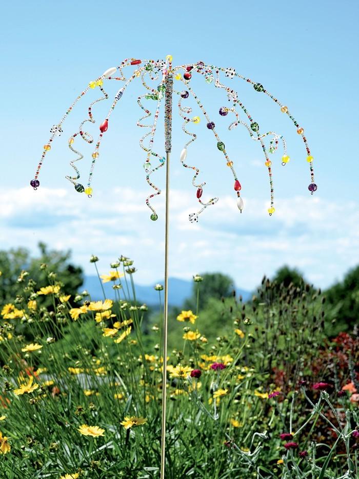 Ausgefallene Gartendeko Selber Machen Upcycling Ideen Diy Deko Garderobe Selber  Machen Basteln Mit Altem Regenschirm