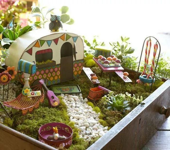 Gut Ausgefallene Gartendeko Selber Machen Upcycling Ideen Diy Deko Garderobe Selber  Machen Schublade Veredeln