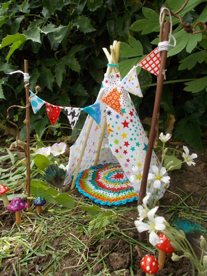 ausgefallene gartendeko selber machen upcycling ideen diy deko märchenwelt