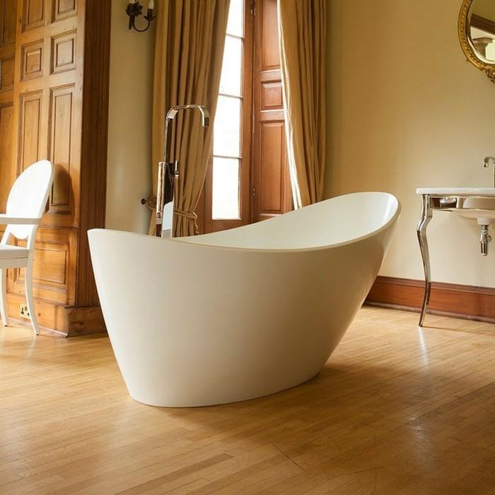 badewanne weiß braun gold als hintergrund
