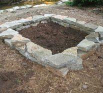 Die wichtigste Stichpunkte, wenn Sie ein Stein-Hochbeet selber bauen