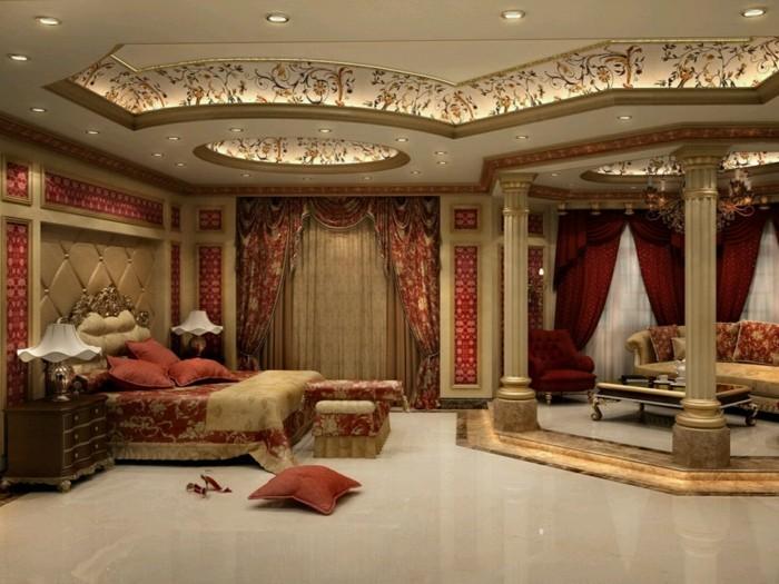 deckengestaltung-luxuriöses-design-mit-schönen-mustern