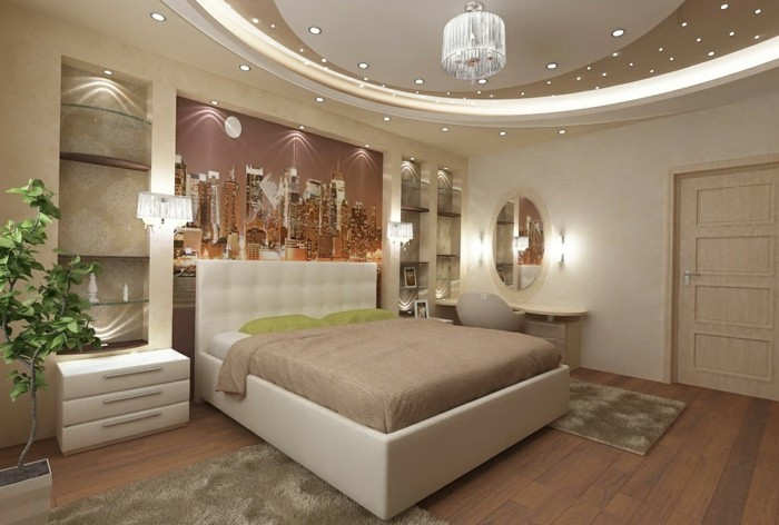 deckengestaltung im schlafzimmer wunderschöne wohnideen in beige