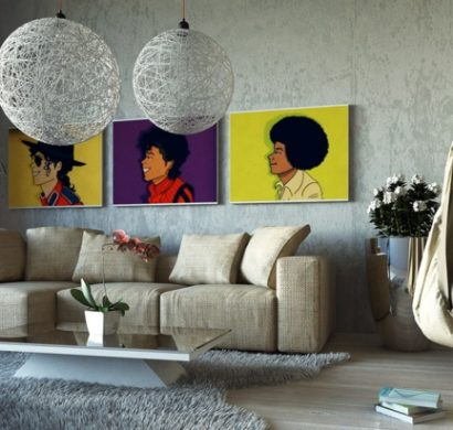88 dekoideen wohnzimmer wie sie den wohnbereich for Ausgefallene wanddeko