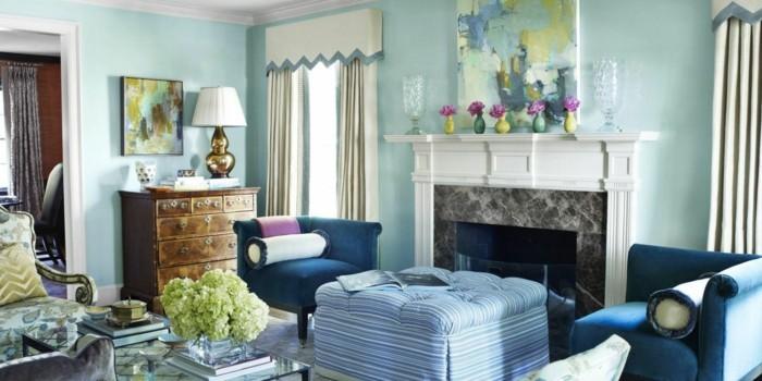 dekoideen wohnzimmer stilvoll und farbig den wohnraum dekorieren