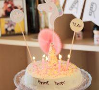 Einhorn Torte: 67 tolle Ideen als Inspiration für den Kindergeburtstag