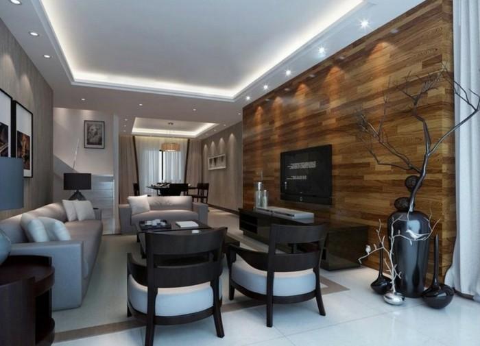 deckengestaltung 88 beispiele wie sie durch eine sch ne decke den raum aufwerten. Black Bedroom Furniture Sets. Home Design Ideas
