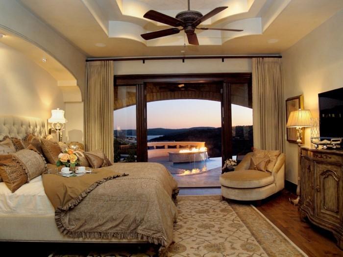 deckengestaltung im wohnzimmer stilvolle ideen für den kleinen schlafbereich