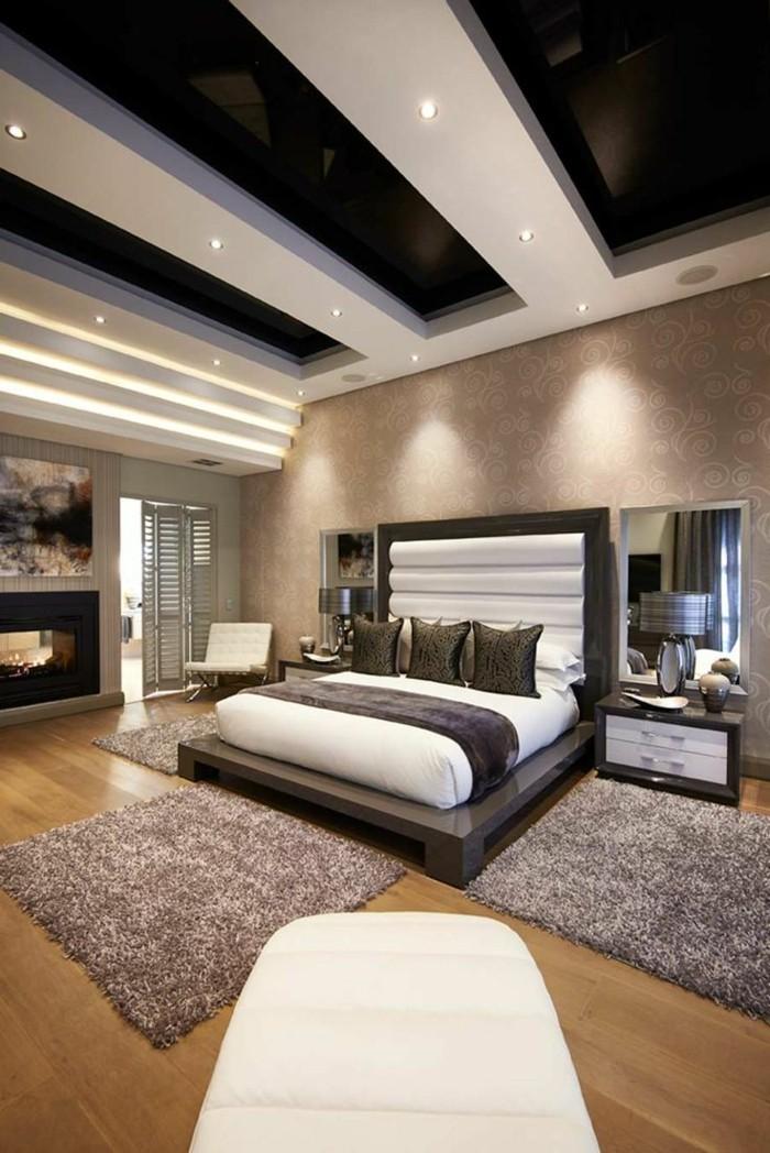 einrichtungsideen schöne zimmerdecke im schlafzimmer gestalten