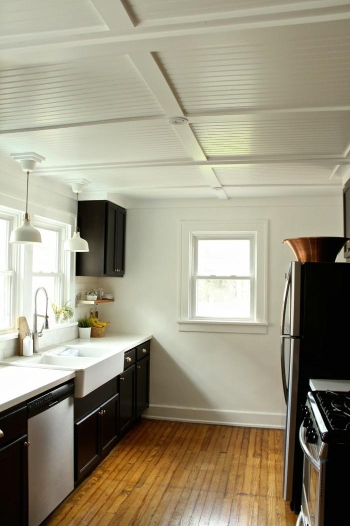 deckengestaltung 88 beispiele wie sie durch eine sch ne. Black Bedroom Furniture Sets. Home Design Ideas