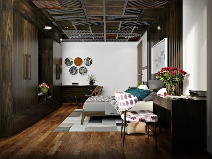 einrichtungsideen stilvolle idee für die zimmerdecke im schlafzimmer